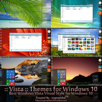 Vista Themes Final for Win10 by sagorpirbd