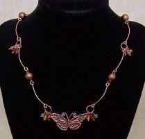 Copper wire choker by asukouenn
