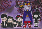 Favorite gothic characters by DarkWindCimba