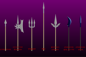 MLP Style Polearm Set [Flash Asset] by SigHoovestrong