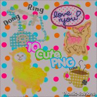 1O Cute PNGs  I by Thoxiic-Editions
