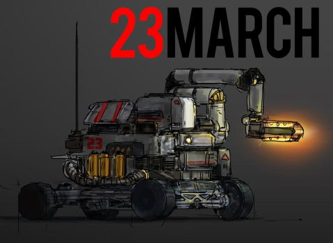 March of Robots 23 by yongs