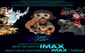 Dexter's Odyssey Collage Quad Poster by timbox129