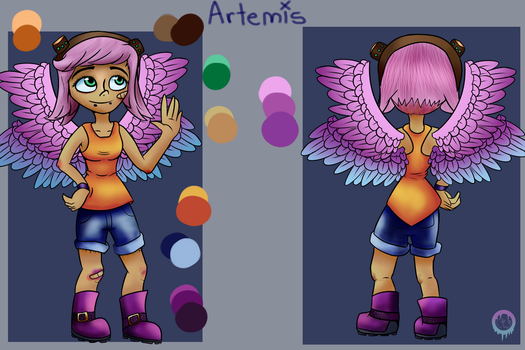 Artemis Reference Sheet by cooky-the-cat