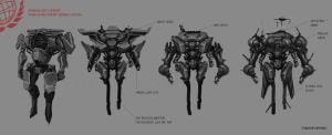 Advanced  Infantry sketches by Spex84