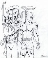 VEGA AND ADON by Arak-8