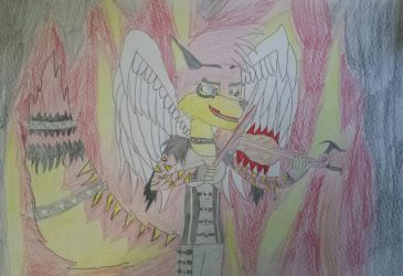 I'm an angel a demon I'm Hell and Heaven by lightningknight115