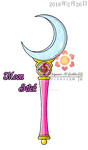 Moon Stick by Saiyaness-N-Goddess