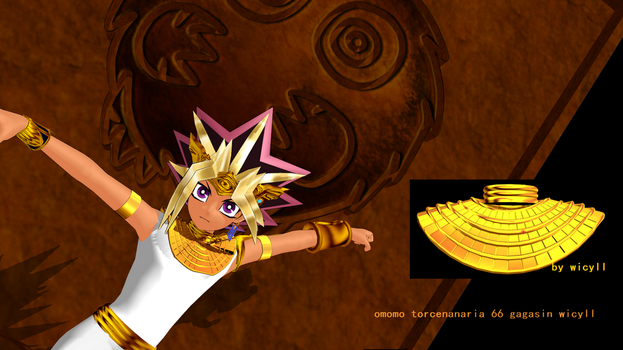 MMD model DL-Atemu-Pharaoh-necklace by wicyll