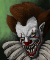 Pennywise Speedpaint [Nightmare Fuel] (with Video) by Dulcahn