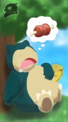 Snorlax by Buho01