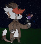 Trick or Treating with Meme by Fuzzy-Draws-BBs