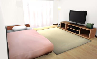 MMD HQ Bedroom by amiamy111