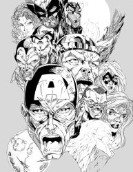 MARVEL by Atew