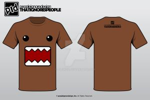 Domo-chan Shirt :D by jlgm25