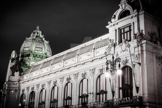 Municipal House by Pzychonoir