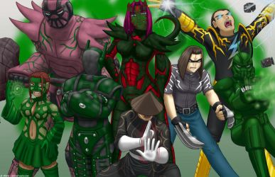 The Green Team by Thrythlind