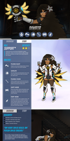 Overwatch OC: Diwata by AltoLullaby