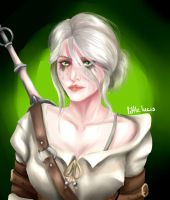 Ciri - The Witcher by LittleLucis