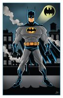 Batman Print by calslayton