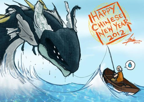 Happy Chinese New Year 2012. by blingzai