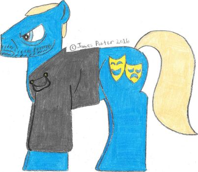TCITW Mordecai, Ponified. by Rock-Raider