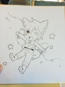 Inking Test by Rugi-chan