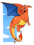 Charizard by LexisSketches