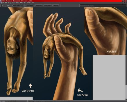 hand wip -4- by LainDragon