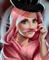 Commission: Warfstache by HalChroma