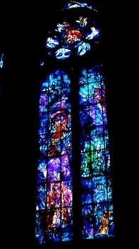 Stained glass Les grandes heures de Reims by simorette