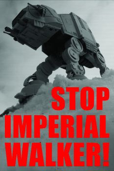 STOP IMPERIAL WALKER by Crigger