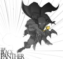 Black Panther by chriscopeland