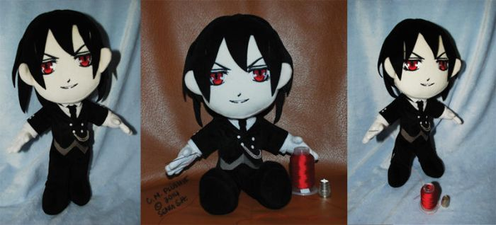 Sebastian C.M.P. commission by sewcuteplushies