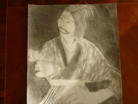 Ainu Woman- Complete Drawing 2 by Book-Dragon211