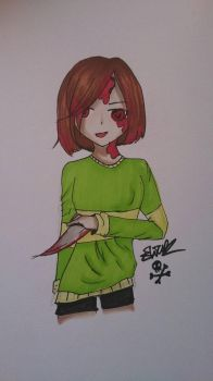 Chara - Undertale  by DrStabNFace