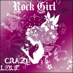Rock Girl Brushes by Coby17