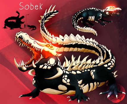 FanGrimm - Sobek by Blue-Hearts