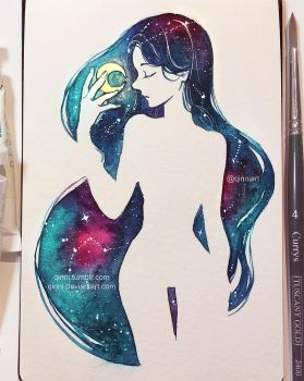 Galaxy Queen by Qinni