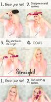 10 Lazy Day Hairstyle Tutorials With RY and GHD by VioletLeBeaux