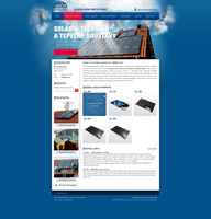 Solar Energy webdesign by 125ml