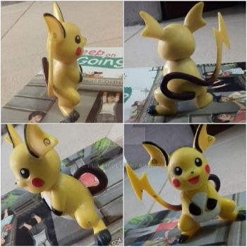 Raichu Action Figure by pup-fu