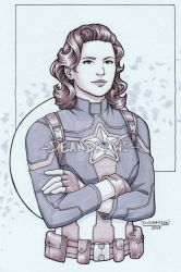Commission - Peggy!Cap by DeanGrayson