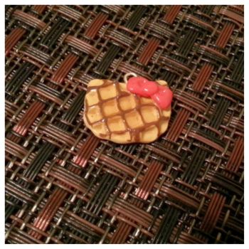 Hello Kitty Waffle by MightySkittles