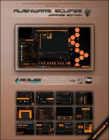 Alienware Eclipse: Orange Edition by Mr-Blade