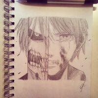 AOT/SNK sketch by Abz-Art