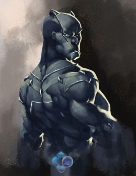 Avengers: Black Panther by dr-conz