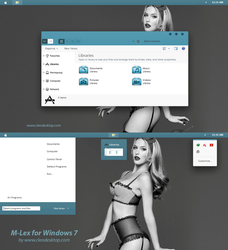M-Lex  theme for Windows 7 by Cleodesktop