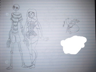 Summer Jack and Sally and Random Zero by TessaLovesOzzy