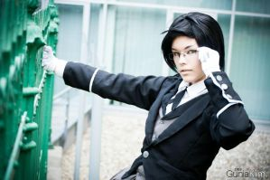 Claude Faustus at your service! by BlindEternity